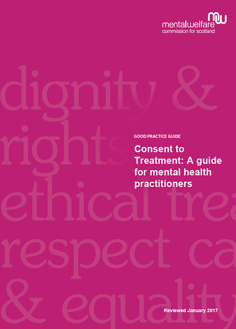 Consent to Treatment: A guide for mental health practitioners image