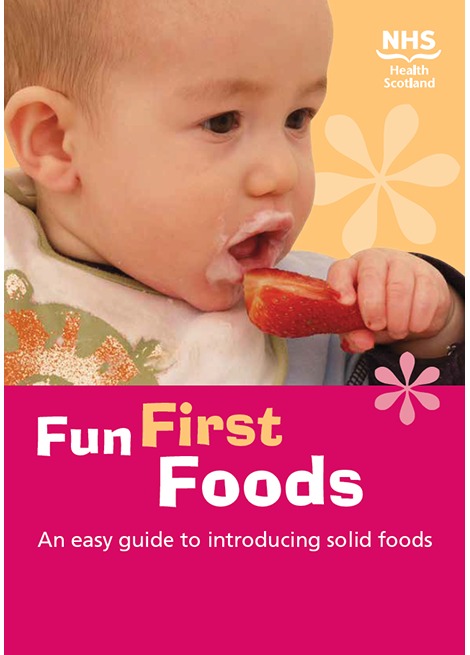 Fun Foods First: An easy guide to introducing solid foods image