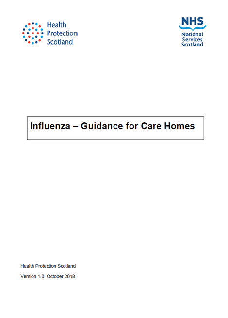 Influenza: Guidance for Care Homes image