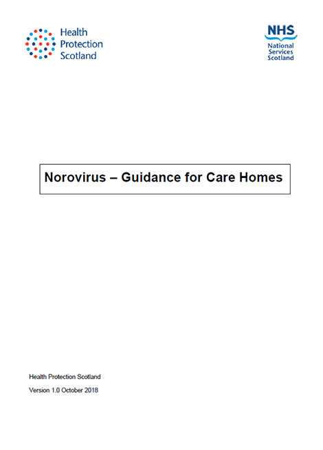 Norovirus: Guidance for Care Homes image