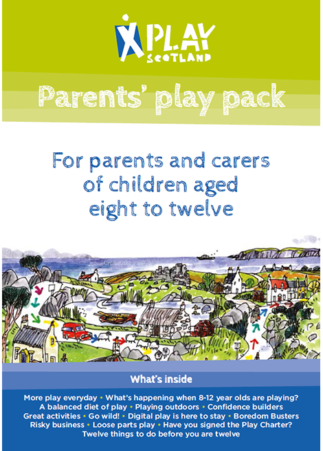 Parents' Play Pack: For parents and carers of children aged eight to twelve image