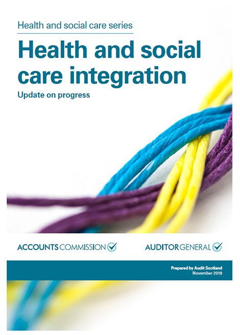 Health and social care integration: Update on progress image