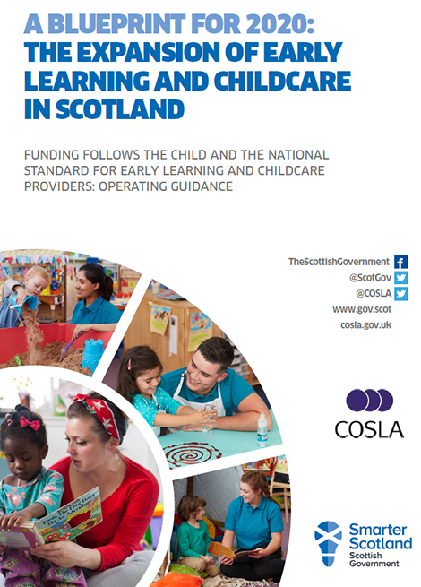 Funding Follows The Child And The National Standard For Early Learning and Childcare Providers: Operating Guidance image
