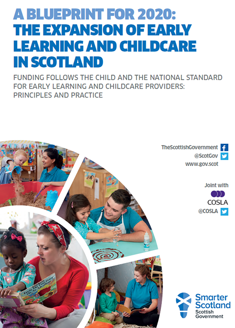 Funding Follows The Child And The National Standard For Early Learning and Childcare Providers: Principles and Practice image