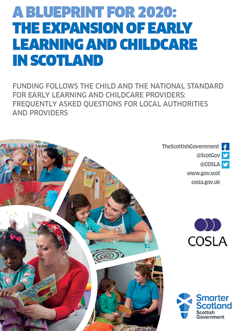 Funding Follows The Child And The National Standard For Early Learning and Childcare Providers: Frequently Asked Questions for Local Authorities and Providers image