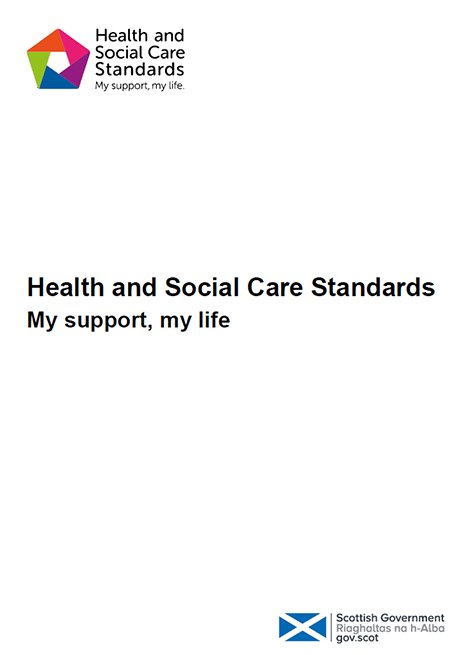 Health and Social Care Standards image