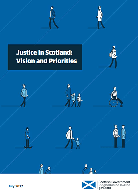 Justice in Scotland: Vision and Priorities image