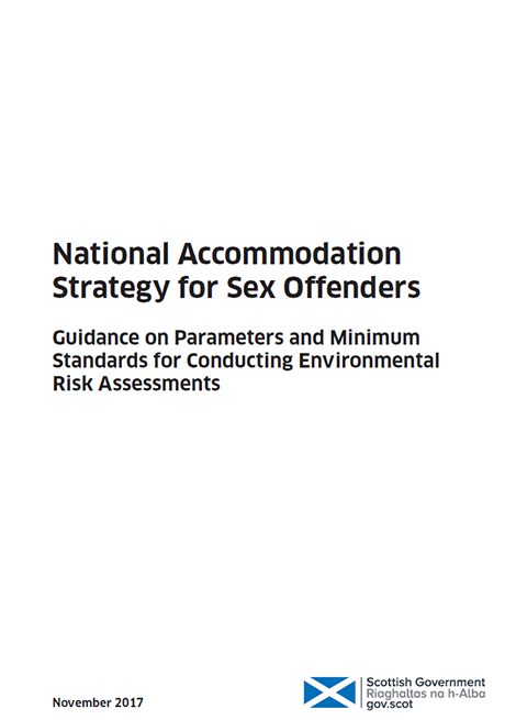 National Accommodation Strategy for Sex Offenders: Guidance on Parameters and Minimum Standards for Conducting Environmental Risk Assessments image