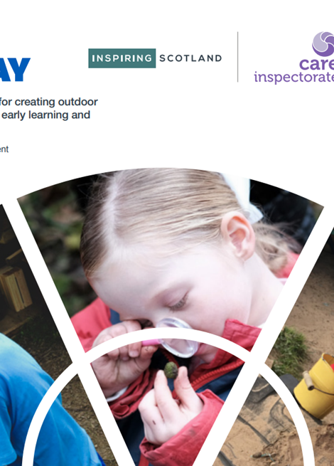 Out To Play: Practical guidance for creating outdoor play experiences in early learning and childcare image