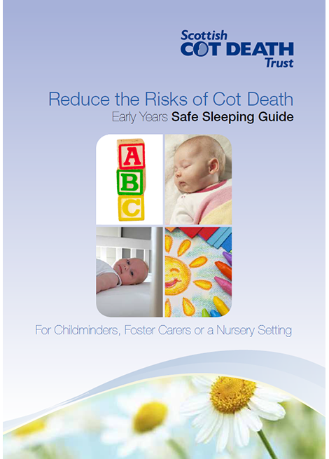 Reduce the Risks of Cot Death: Early Years Safe Sleeping Guide image