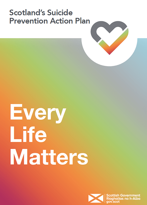 Scotland's Suicide Prevention Action Plan: Every Life Matters image