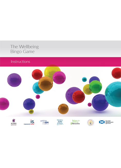 The Wellbeing Bingo Game image