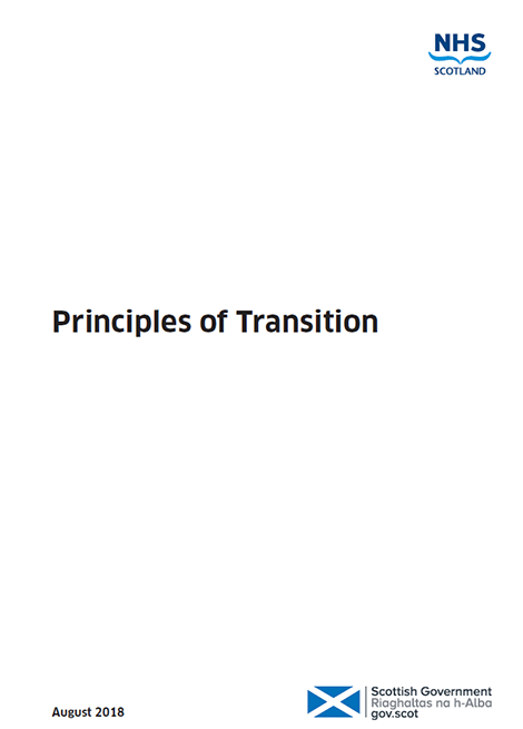 Transition Care Planning - Action 21: Principles of Transition image