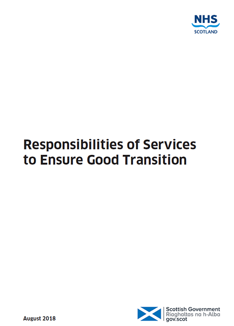 Transition Care Planning - Action 21: Responsibilities of Services to Ensure Good Transition image