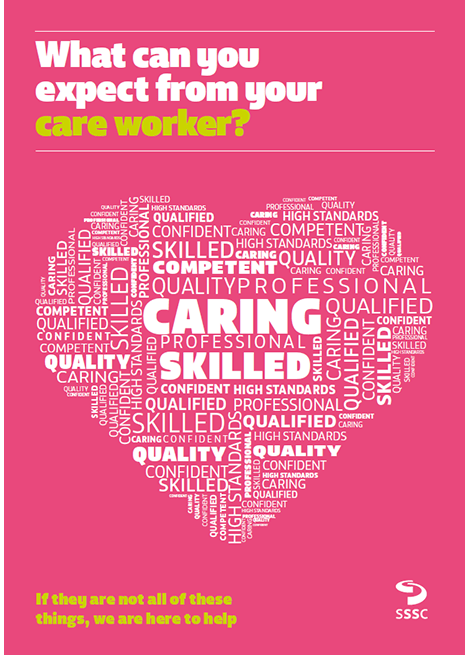 What can you expect from your care worker? image