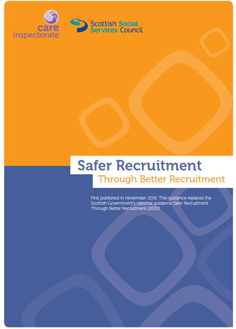 National Safer Recruitment Guidance image