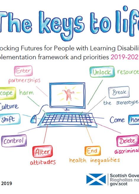 The Keys to Life: Unlocking Futures for People with Learning Disabilities Implementation framework and priorities 2019-2021 image