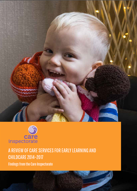 A review of care services for early learning and childcare 2014 - 2017 image