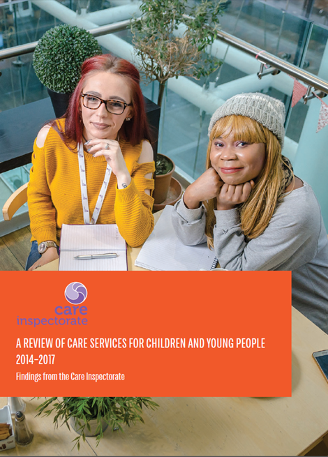 A review of care services for children and young people 2014 - 2017 image