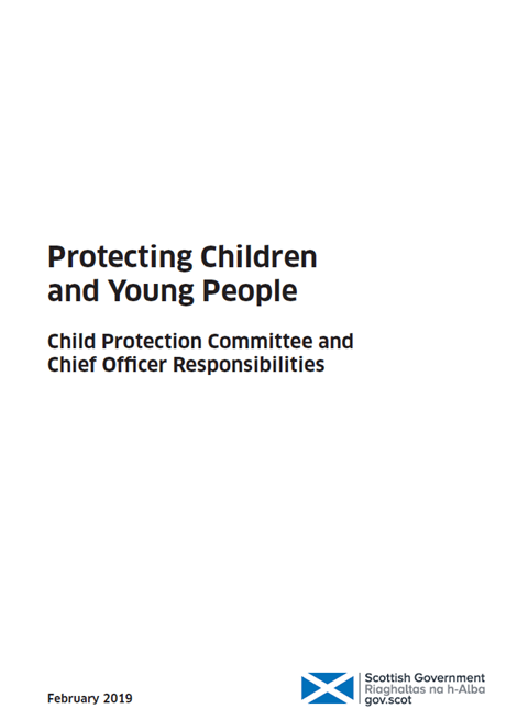 Protecting children and young people: Child Protection Committee and Chief Officer responsibilities image