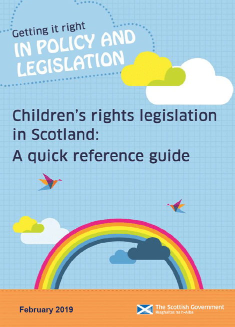 Children's rights legislation in Scotland: quick reference guide image