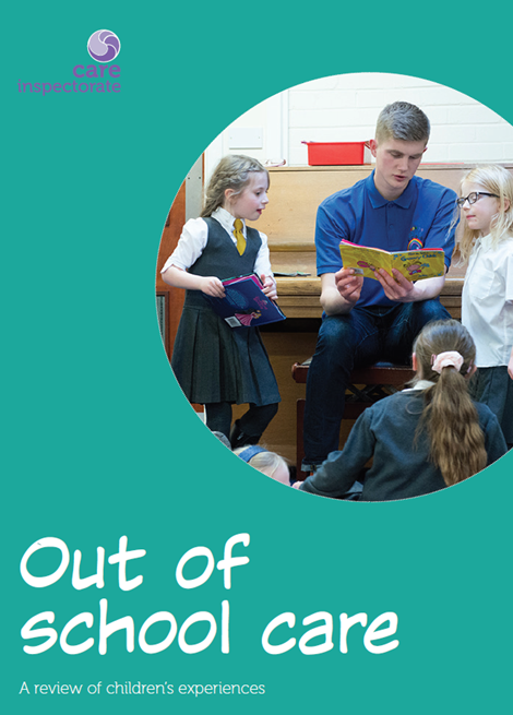 Out of school care: a review of children's experiences image