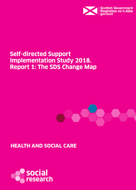 Self-directed Support Implementation Study 2018: report 1 image