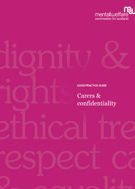 Carers and confidentiality image