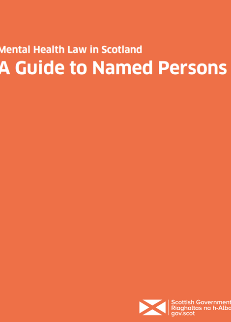 Mental health law in Scotland - guide to named persons image
