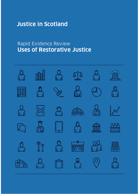 Uses of Restorative Justice - evidence review image