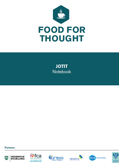 Food for Thought- JOTIT Notebook image