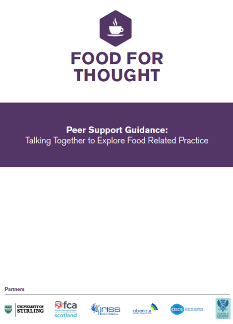 Food for Thought-Peer Support Guidance image