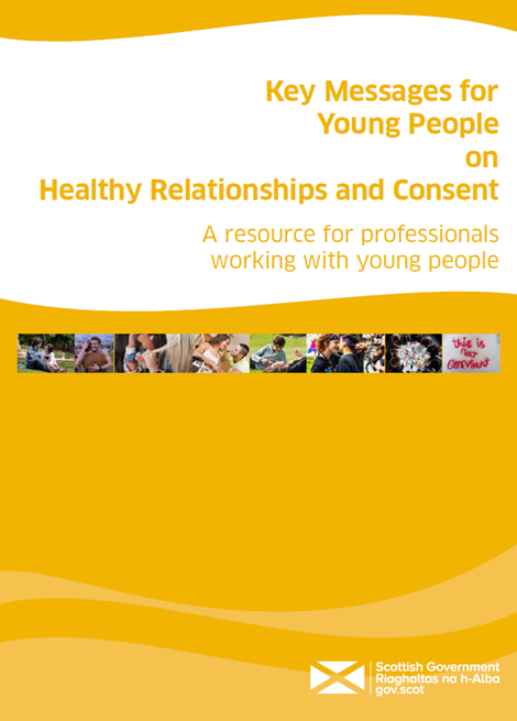 Key Messages for Young People on Healthy Relationships and Consent image
