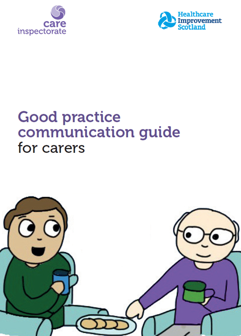 Good practice communication guide for carers image
