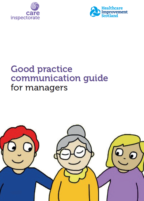 Good practice communication guide for managers image