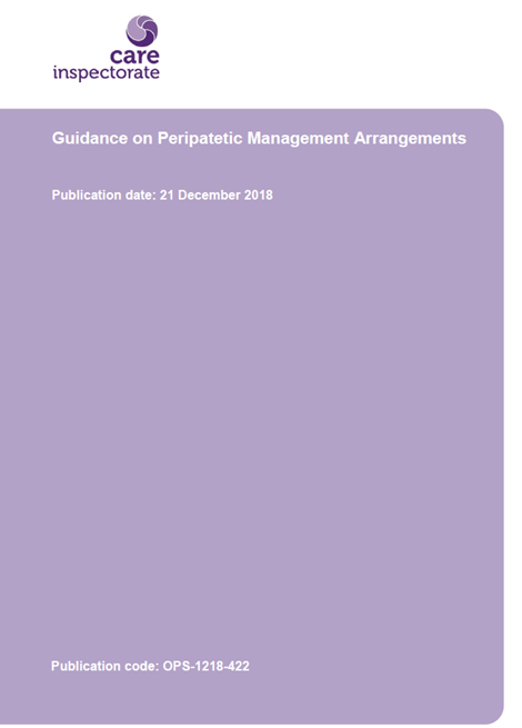 Guidance on Peripatetic Management Arrangements image
