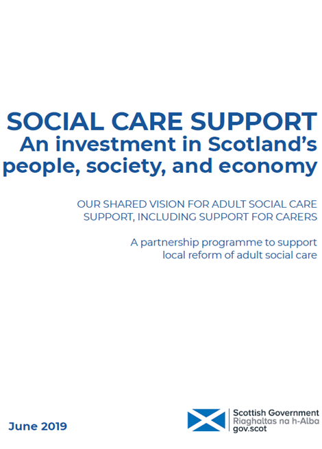 Social Care Support: Our shared vision for adult social care support, including support for carers image