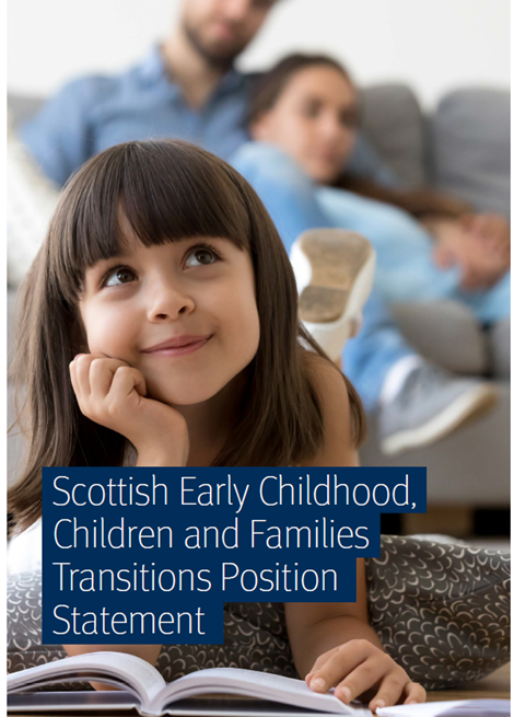 Scottish Early Childhood, Children and Families Transitions Position Statement image