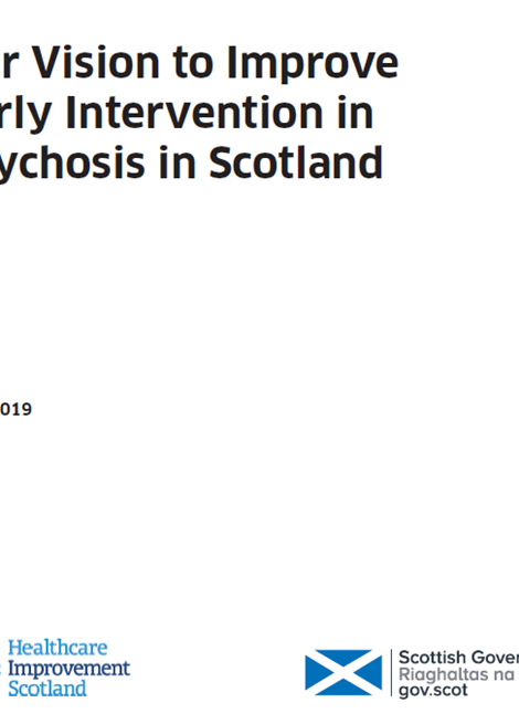 Our Vision to Improve Early Intervention in Psychosis in Scotland image