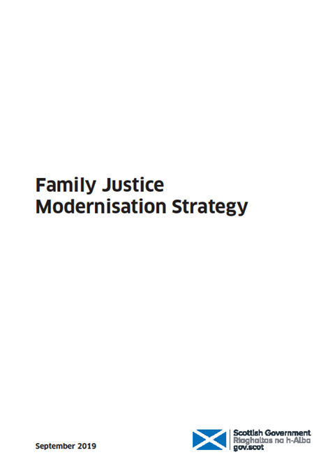 Family Justice Modernisation Strategy image