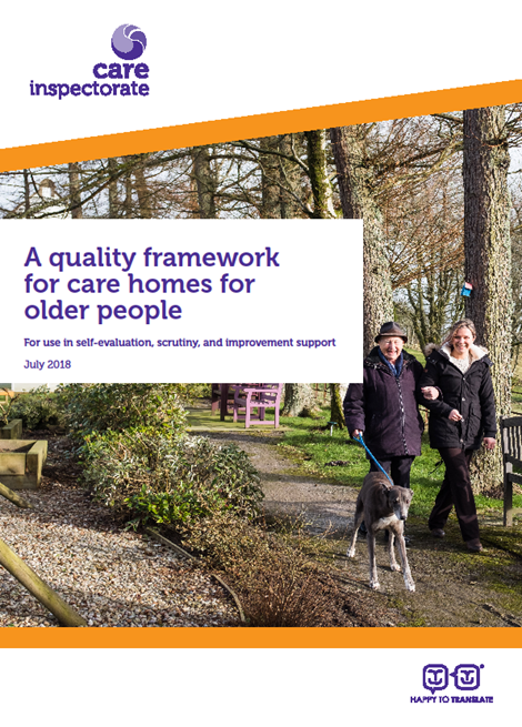 A quality framework for care homes for older people image