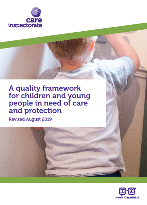 Updated quality framework for children and young people in need of care and protection image