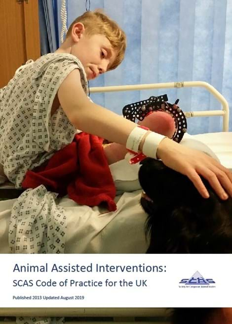 Animal Assisted Interventions: SCAS Code of Practice for the UK image