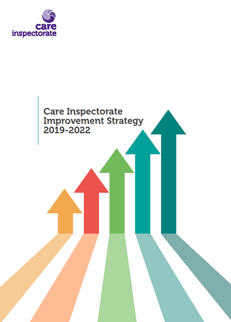 Care Inspectorate Improvement Strategy 2019-2022 image