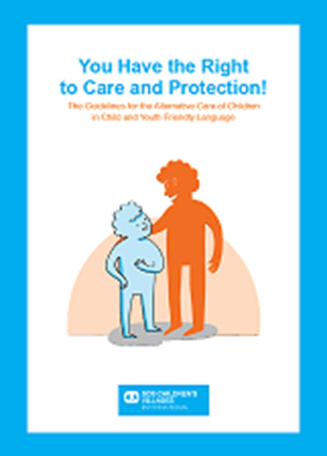 The Guidelines for the Alternative Care of Children in Child and Youth Friendly Language image