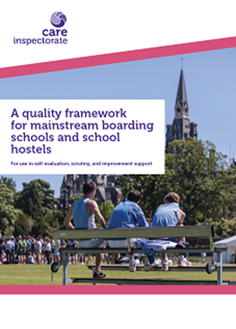 A quality framework for mainstream boarding schools and school hostels image