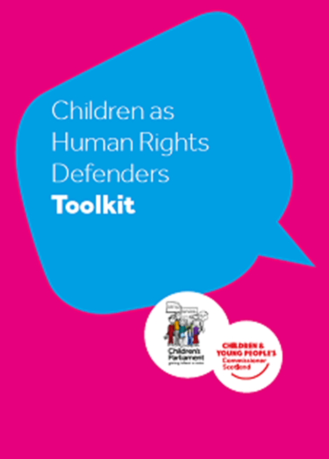 Children as Human Rights Defenders Toolkit image