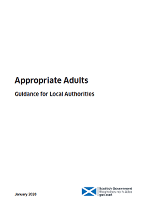 Appropriate Adults: Guidance for Local Authorities image