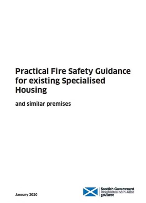 Practical Fire Safety Guidance for Existing Specialised Housing and similar premises image