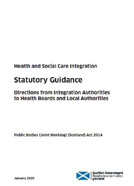 Directions from Integration Authorities to Health Boards and Local Authorities image